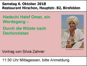 Karl May treffen, 6. Oktober 2018